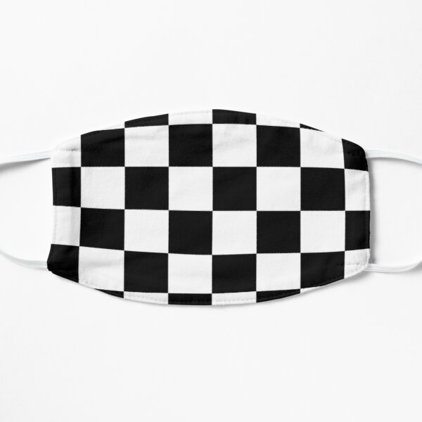 Checkered Flag. Chequered Flag. Motor Sport. Checkerboard. Pattern. WIN. WINNER.  Racing Cars. Race. Finish line. BLACK. Mask
