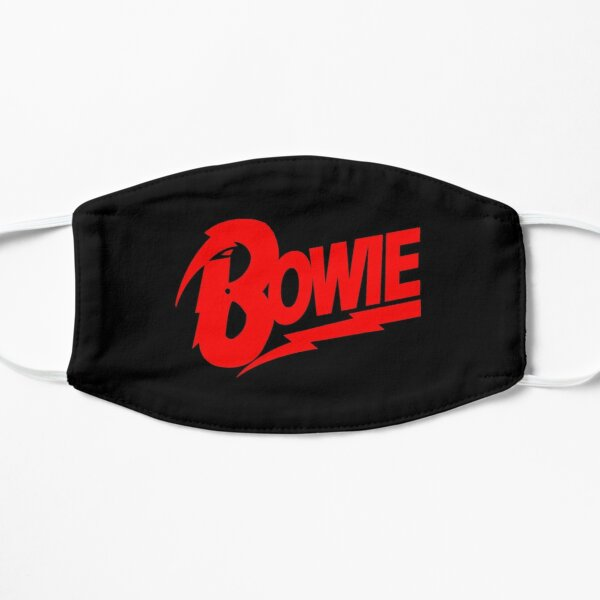 Classic David Bowie Tribute Flat Mask