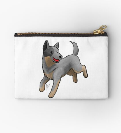 Australian Cattle Dog/ Blue Heeler Studio Pouch