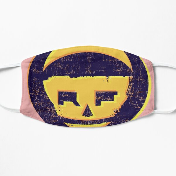 Rudy Faber - Brand Logo - Golden Purple Mask