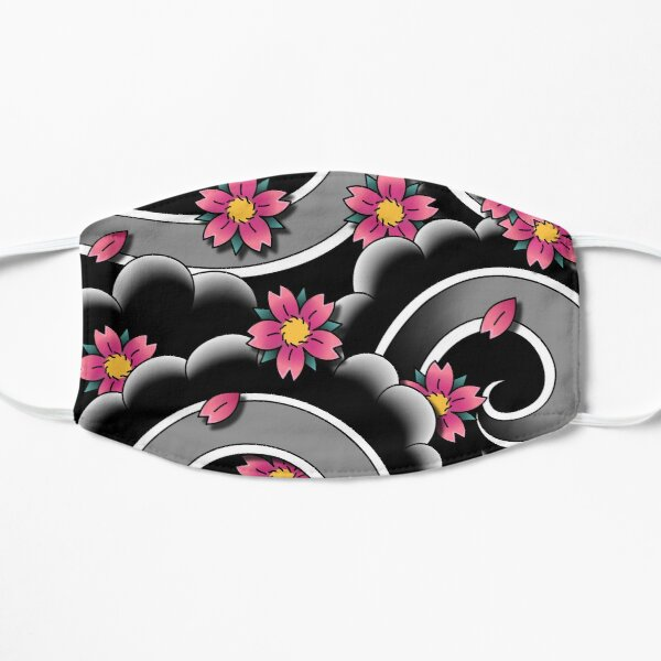 Sakura Wind Flat Mask