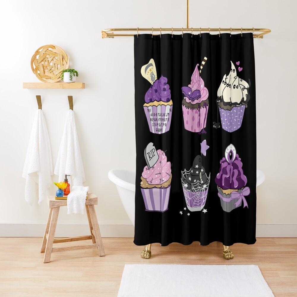 Pastel Gothcakes Shower Curtain