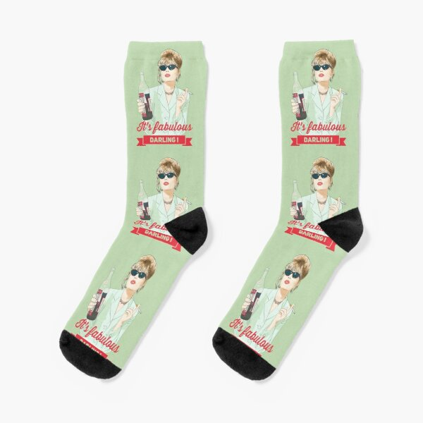 It s fabulous Darling Patsy Stone, abfab Socks