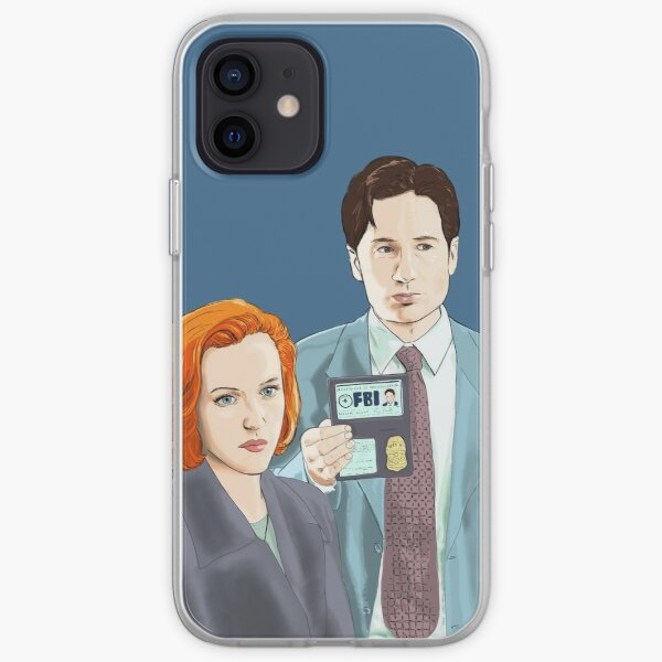 X Files we re with the FBI by Mimie iPhone Soft Case