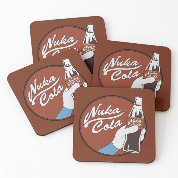 Nuka-Cola! Coasters (Set of 4)