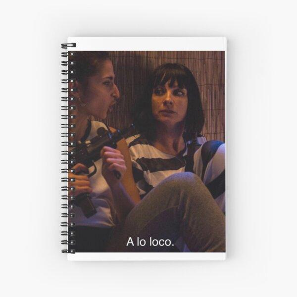 Saray y Zulema Vis A Vis Cuaderno de espiral
