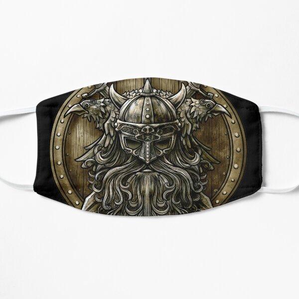 Viking Shield - Nordic Norse Valhalla  Flat Mask