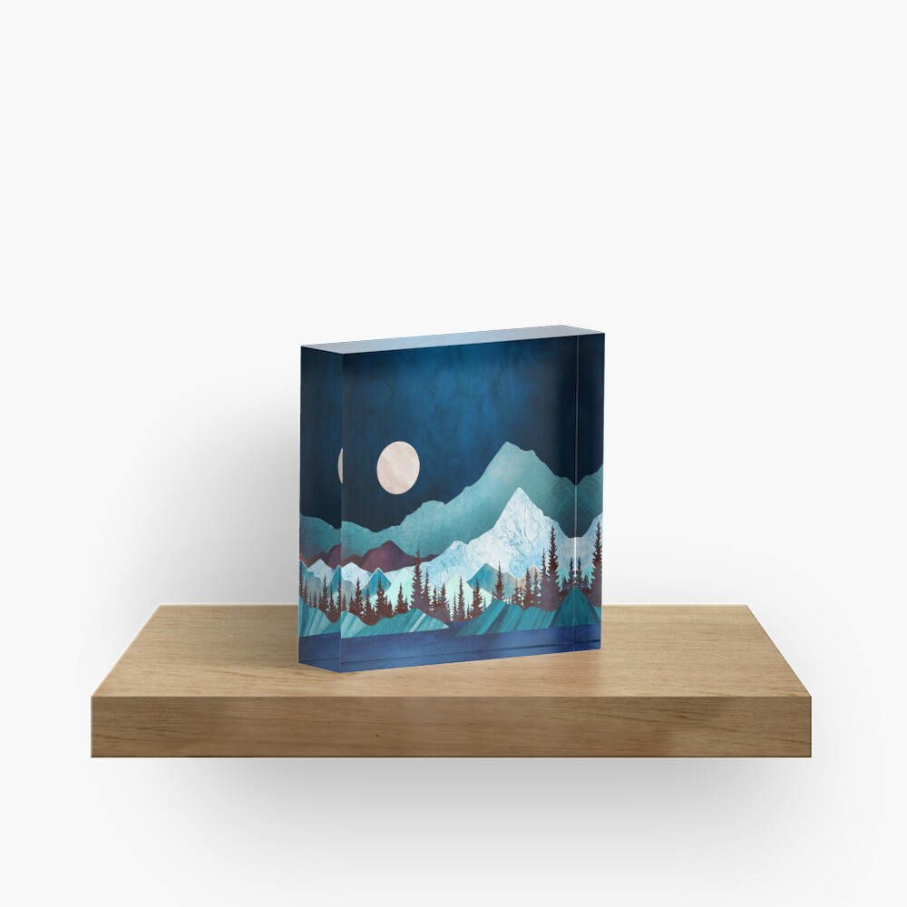 Moon Bay Acrylic Block