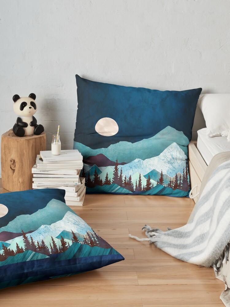 Alternate view of Moon Bay Floor Pillow