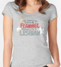 For Clarification Women's Fitted Scoop T-Shirt
