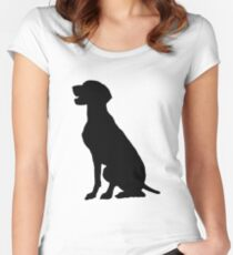 German Pointer Women's Fitted Scoop T-Shirt