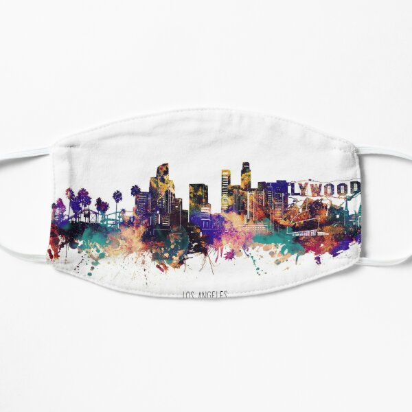 los angeles skyline Mask