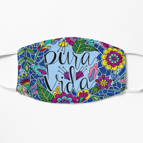 Pura Vida || Costa Rica || Lettering || Quote Mask