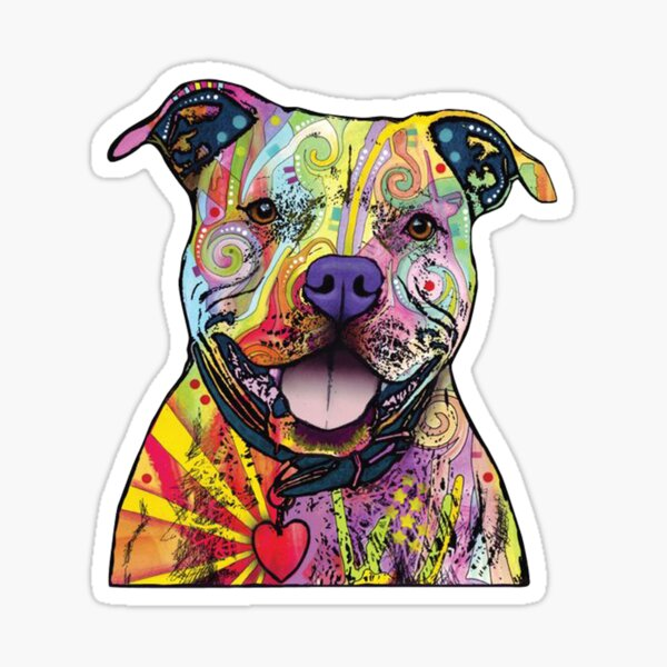 PITBULL MOTHERS DAY GIFT Sticker