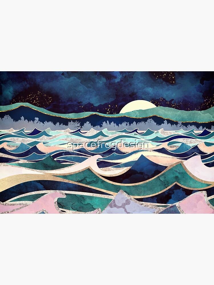 Moonlit Ocean by spacefrogdesign
