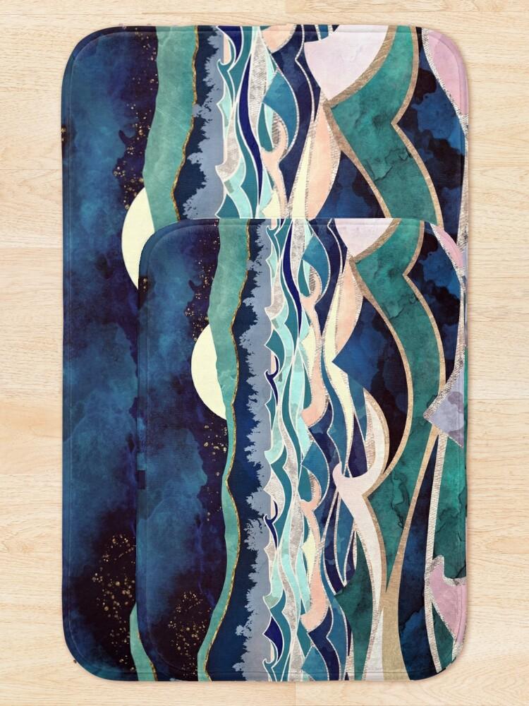Alternate view of Moonlit Ocean Bath Mat