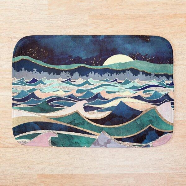 Moonlit Ocean Bath Mat