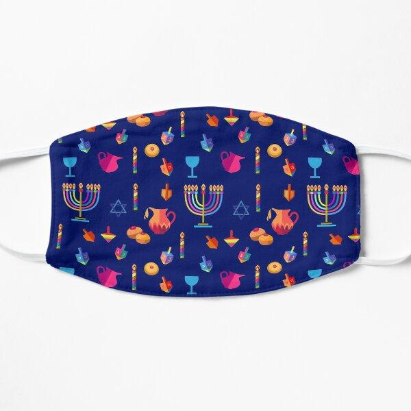 Happy Hanukkah Menorah Jewish Holiday Party Decoration Flat Mask