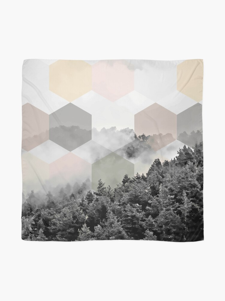 Alternate view of Explained Dimensionality #redbubble Scarf