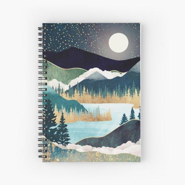 Star Lake Spiral Notebook