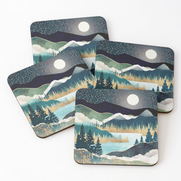 Star Lake Coasters (Set of 4)
