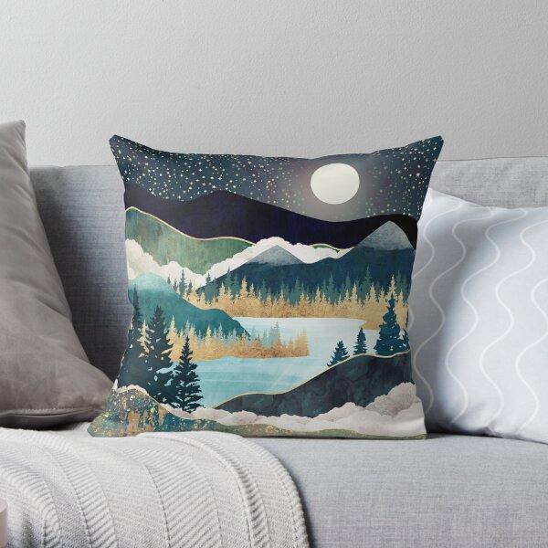 Star Lake Throw Pillow