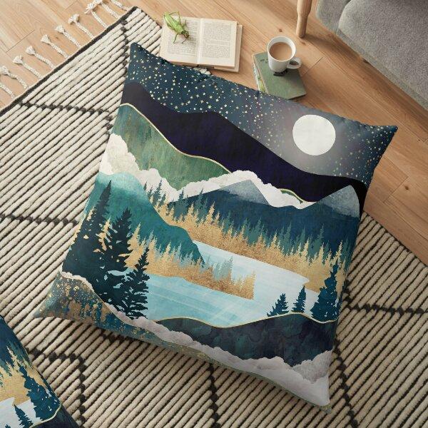 Star Lake Floor Pillow