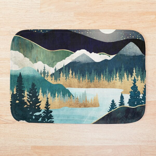 Star Lake Bath Mat