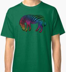 Rainbow Zebra Art Classic T-Shirt