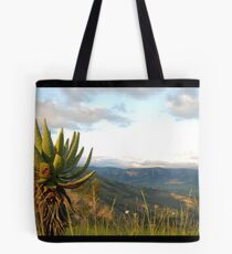 and down to the ezulwini valley Tote Bag