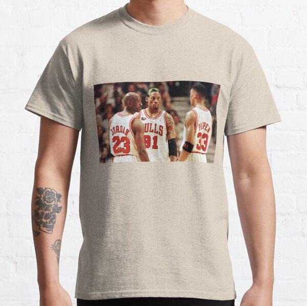 Jordan, Pippen and Rodman Classic T-Shirt