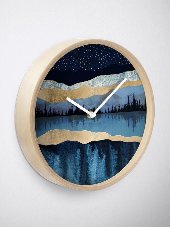Alternate view of Midnight Lake Clock