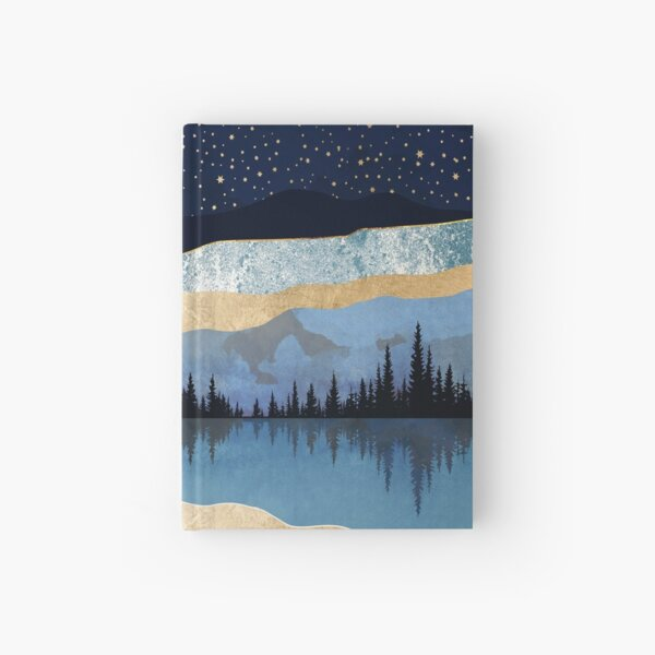 Midnight Lake Hardcover Journal