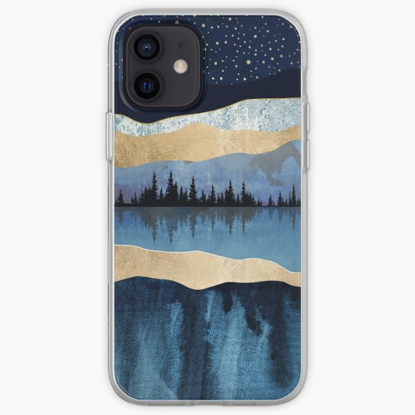 Midnight Lake iPhone Soft Case
