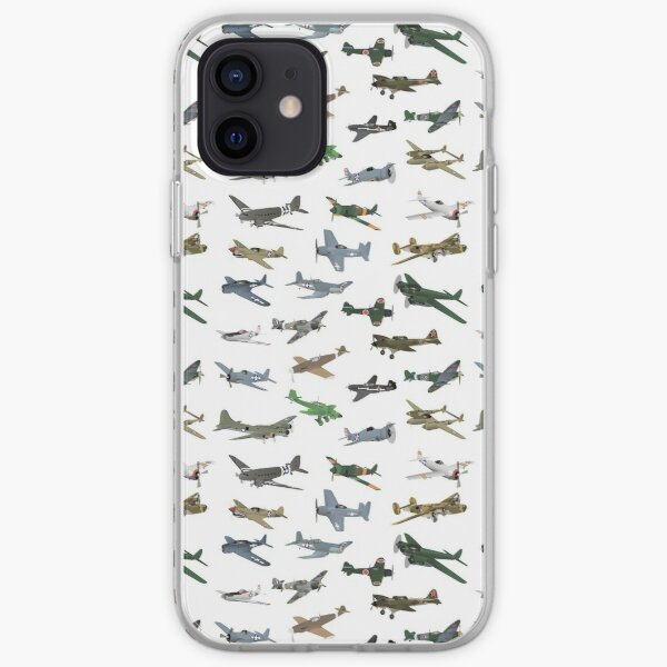 Various WW2 Airplanes iPhone Soft Case