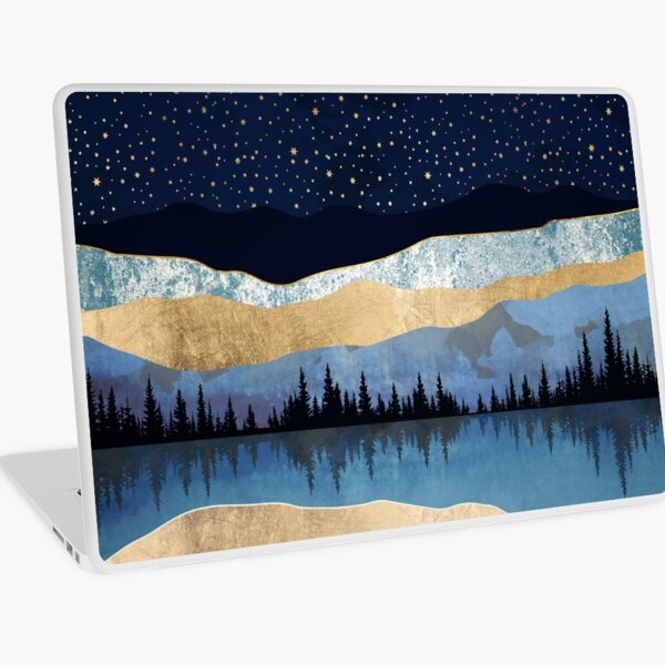 Midnight Lake Laptop Skin