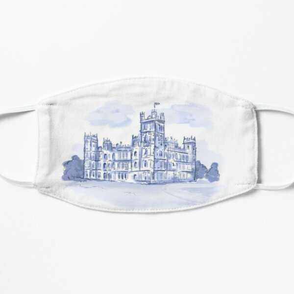 Downton Abbey inspired Toile Mask