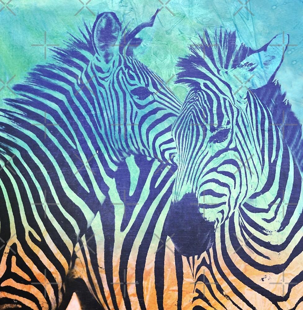 Zebras by Vin  Zzep