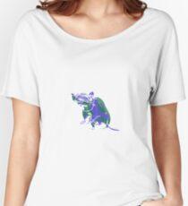 Rat Mauve Green E Women's Relaxed Fit T-Shirt