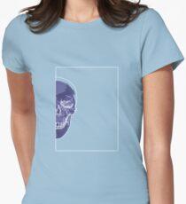 Skull Blue Mauve B T-Shirt