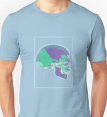 Skull Green Mauve C T-Shirt