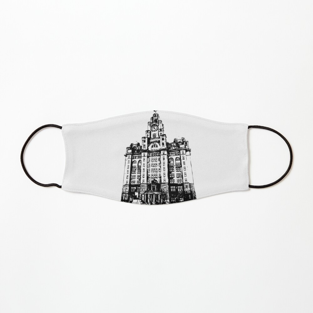 Liverpool Liver Building Vector Mask