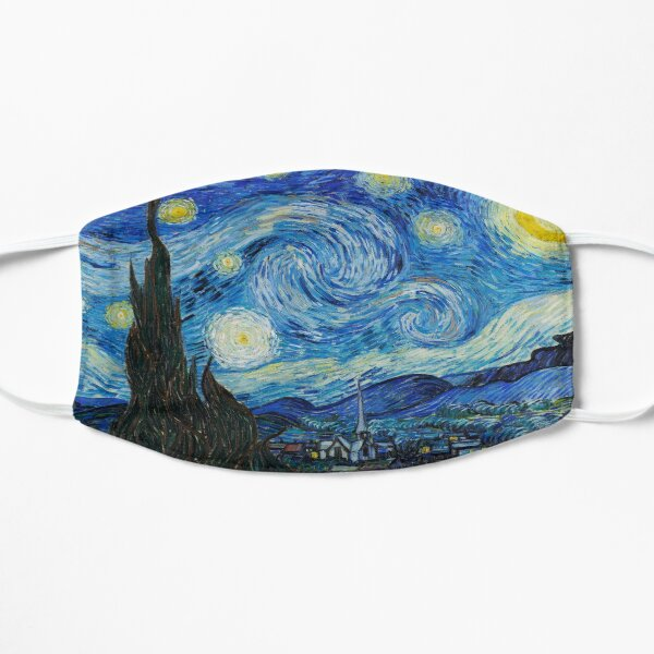 Starry Night Face Mask Flat Mask
