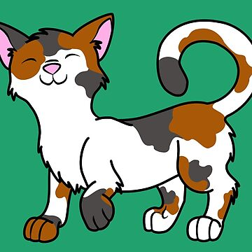 Happy Calico Kitten by Grifynne