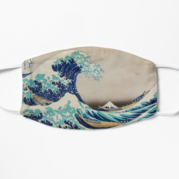 Great Wave off Kanagawa Face Mask Mask