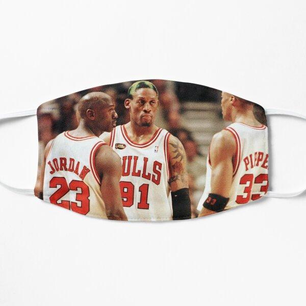 Jordania, Pippen y Rodman Mascarilla plana