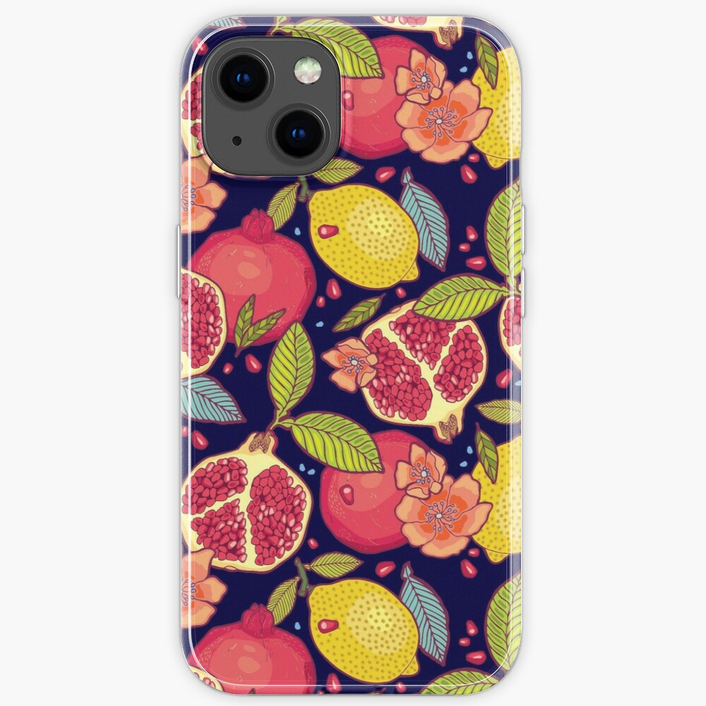 Mysterious tropical garden. iPhone Case