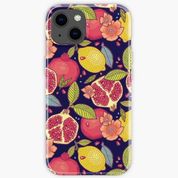 Mysterious tropical garden. iPhone Soft Case
