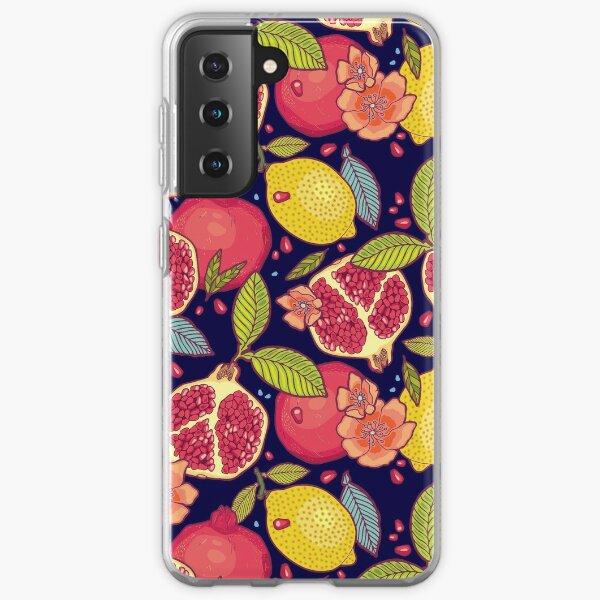 Mysterious tropical garden. Samsung Galaxy Soft Case