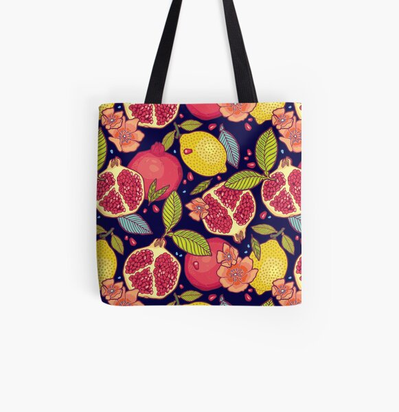 Mysterious tropical garden. All Over Print Tote Bag